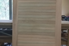 Tongue & groove solid timber door