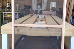Timber flyscreen frame