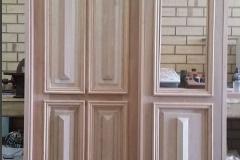 Front door and panel