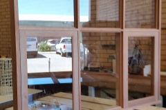 Custom timber and glass windows