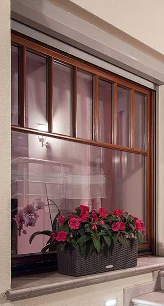 custom timber window frame